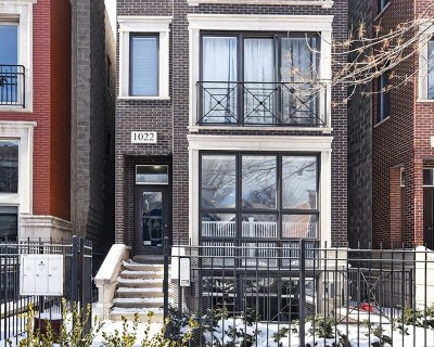 Condo/Townhouse For Sale: 1022 North Paulina Street #1