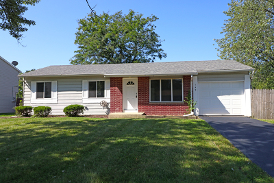 Bolingbrook Single Family Home Contingent: 149 Olympic Drive