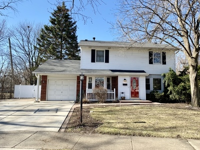 Wheeling Single Family Home For Sale: 1056 Valley Stream Drive