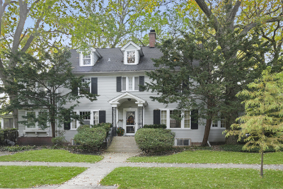 Wilmette Single Family Home For Sale: 501 Laurel Avenue