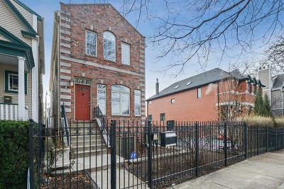 Single Family Home For Sale: 1843 West Fletcher Street