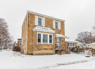 Chicago Single Family Home New: 6737 West Berwyn Avenue