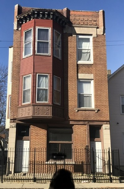 Chicago Multi Family Home For Sale: 1830 North Kimball Avenue