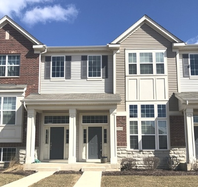 Naperville Condo/Townhouse For Sale: 2534 Dunraven Avenue