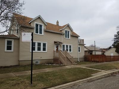 Chicago Single Family Home For Sale: 5801 North Navarre Avenue
