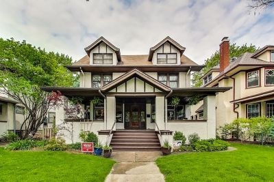 Oak Park Single Family Home For Sale: 621 South Elmwood Avenue