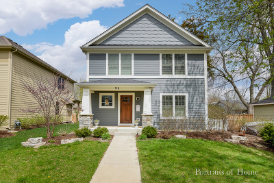 St. Charles Single Family Home For Sale: 718 Cutler Street