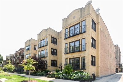 Condo/Townhouse For Sale: 1475 West Winona Street #2W