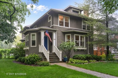 Wilmette Single Family Home New: 1538 Central Avenue