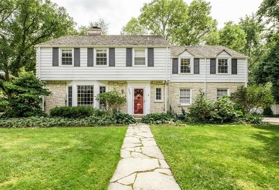 Evanston Single Family Home For Sale: 3805 Foster Street