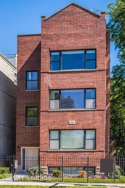 Condo/Townhouse For Sale: 3001 North Damen Avenue #4