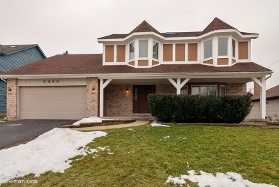 Aurora Single Family Home For Sale: 2445 Lakeside Drive
