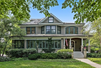Wilmette Single Family Home For Sale: 1201 Greenwood Avenue