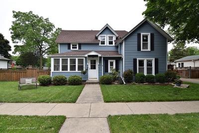 Geneva Single Family Home For Sale: 132 Woodlawn Street