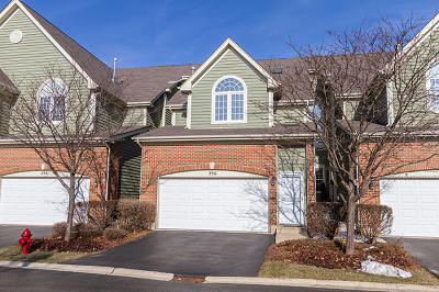Palatine Condo/Townhouse For Sale: 296 West Fairview Circle