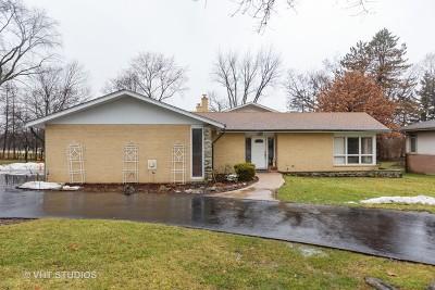 Oak Brook Single Family Home Price Change: 5 Dover Drive