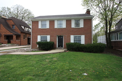 Elmhurst IL Single Family Home For Sale: $559,900