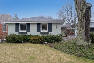 Wilmette Single Family Home For Sale: 930 Hunter Road