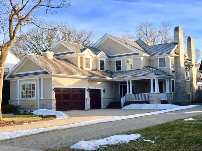 Wilmette Single Family Home For Sale: 2111 Birchwood Avenue