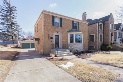 Western Springs Single Family Home For Sale: 4205 Western Avenue