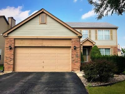 Bolingbrook Single Family Home For Sale: 452 Hummingbird Lane