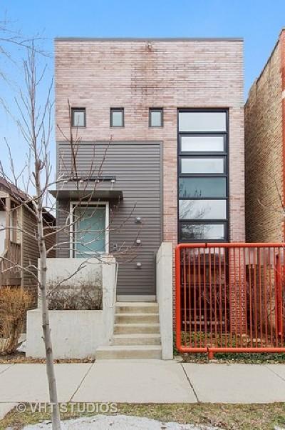 Single Family Home Price Change: 527 North Wood Street