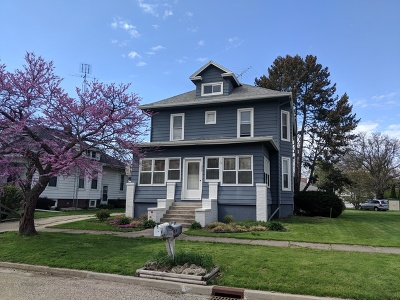 Heyworth Single Family Home Price Change: 309 West Main Street