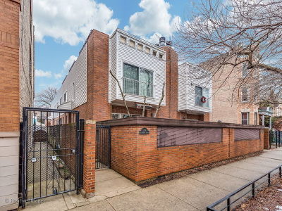 Chicago Condo/Townhouse Re-Activated: 1354 North Wolcott Avenue #A