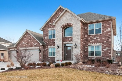 Plainfield Single Family Home Price Change: 25913 West Canyon Boulevard