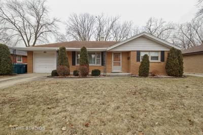 South Holland Single Family Home New: 16644 Thornton Avenue