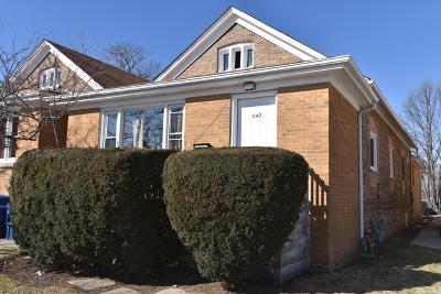 Single Family Home New: 540 Green Bay Road