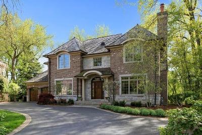 Glencoe Single Family Home For Sale: 752 Brookvale Terrace