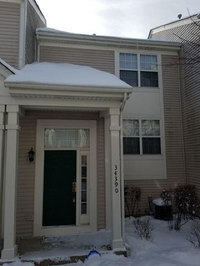Round Lake Condo/Townhouse New: 34390 North Barberry Court