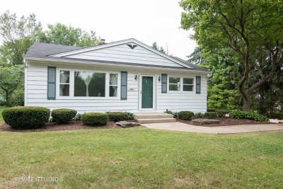 Warrenville Single Family Home For Sale: 27w601 Galusha Avenue