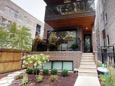 Condo/Townhouse For Sale: 3839 North Ashland Avenue #2