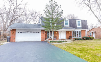 Orland Park Single Family Home For Sale: 14555 Ridge Avenue
