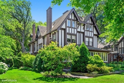 Evanston Single Family Home For Sale: 1117 Sheridan Road