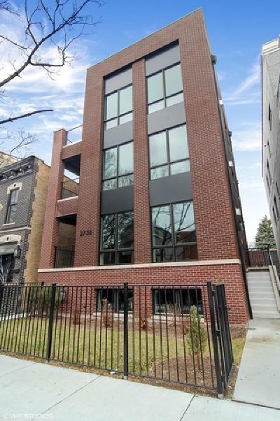 Condo/Townhouse New: 2738 North Racine Avenue #1W