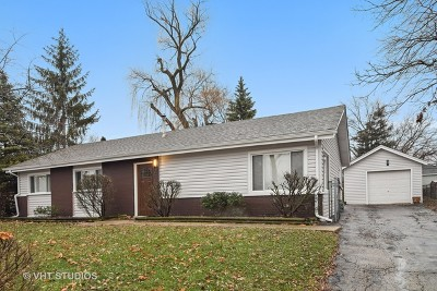 Hoffman Estates Single Family Home For Sale: 215 Kingman Lane