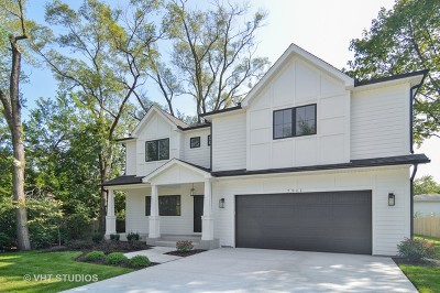 Glenview Single Family Home For Sale: 4635 Laurel Avenue