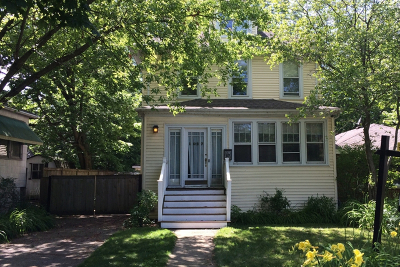 Wilmette Single Family Home For Sale: 1027 Green Bay Road