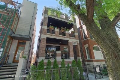 Chicago Condo/Townhouse New: 2732 North Seminary Avenue #3