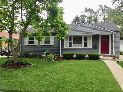 Arlington Heights Single Family Home New: 829 South Chestnut Avenue