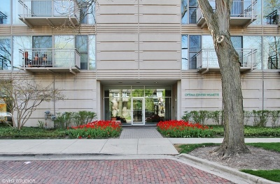 Wilmette Condo/Townhouse For Sale: 705 11th Street #405