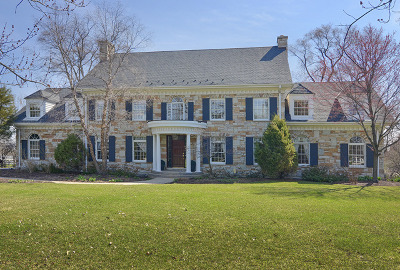 Burr Ridge Single Family Home For Sale: 6301 South County Line Road