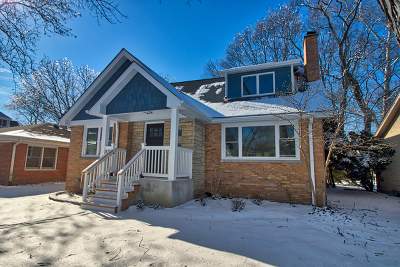 Western Springs Single Family Home For Sale: 5122 Lawn Avenue