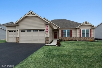 Sycamore Single Family Home Price Change: 2320 Coventry Circle South