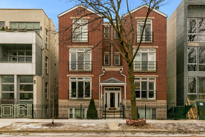 Condo/Townhouse For Sale: 2333 North Leavitt Street #2S