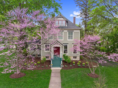 Hinsdale Single Family Home Price Change: 218 South Lincoln Street