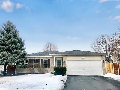 Plainfield Single Family Home New: 12421 South Bob White Lane